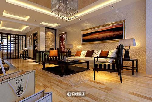 方林装饰8款客厅设计效果图